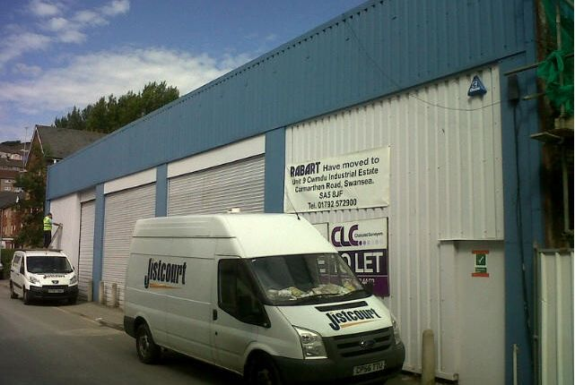 Thumbnail Industrial for sale in Tontine Street, Swansea