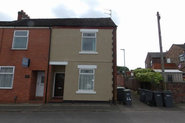 Thumbnail End terrace house to rent in Oxford Street, Penkhull, Stoke-On-Trent