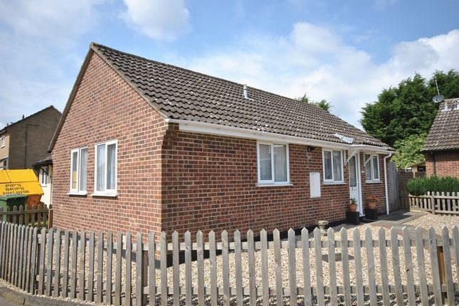 Thumbnail Semi-detached bungalow for sale in Nursery Close, Hellesdon, Norwich