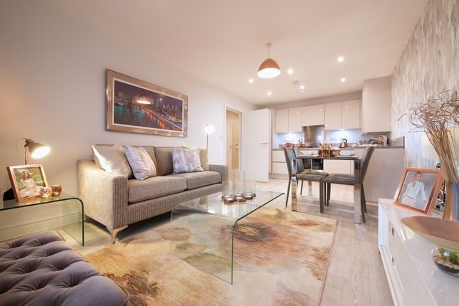 Thumbnail Flat for sale in Plot 16, Lewis House, Queensgate, Farnborough, Hampshire