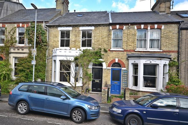 Thumbnail Terraced house for sale in Carlyle Road, Cambridge
