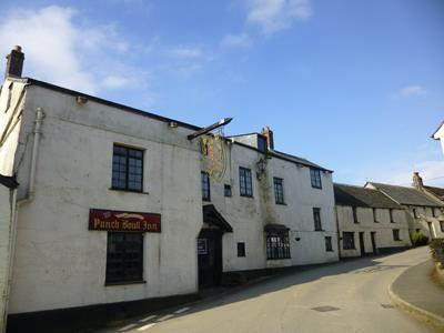 Thumbnail Pub/bar for sale in Punch Bowl Inn, St Marnarch's Road, Lanreath, Looe