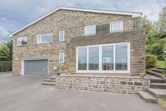 Thumbnail Detached house for sale in Pike Law Lane, Golcar, Huddersfield