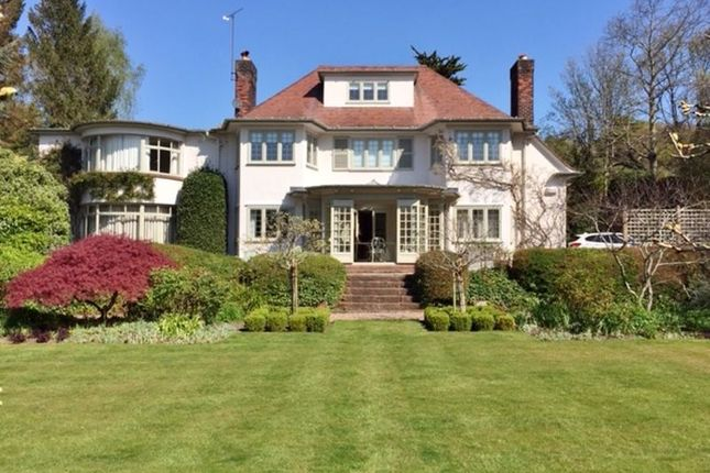 Thumbnail Detached house for sale in Croft Drive, Caldy, Wirral