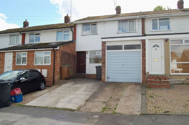 Thumbnail Terraced house to rent in The Firs, Daventry, Northants