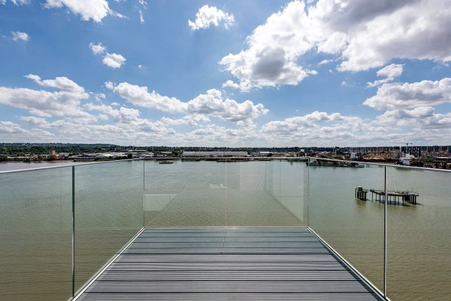 Thumbnail Flat for sale in Thameside House, Royal Wharf, Silvertown, London