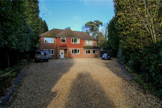 Thumbnail Detached house for sale in Claremont Avenue, Camberley, Surrey