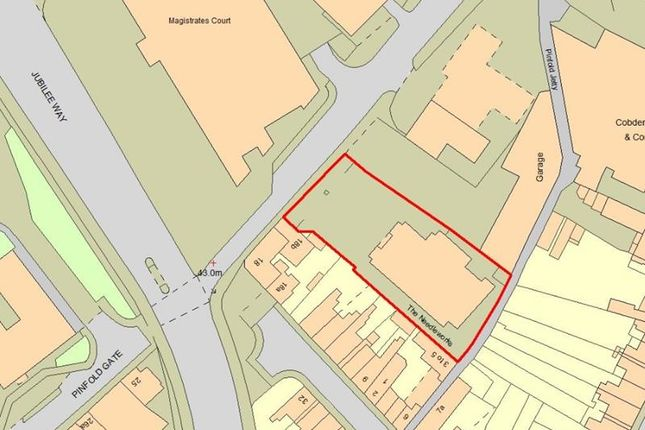 Thumbnail Land for sale in 14 Pinfold Gate, Loughborough, Leicestershire