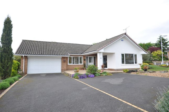 Thumbnail Detached bungalow for sale in Long Meadow, Heswall, Wirral