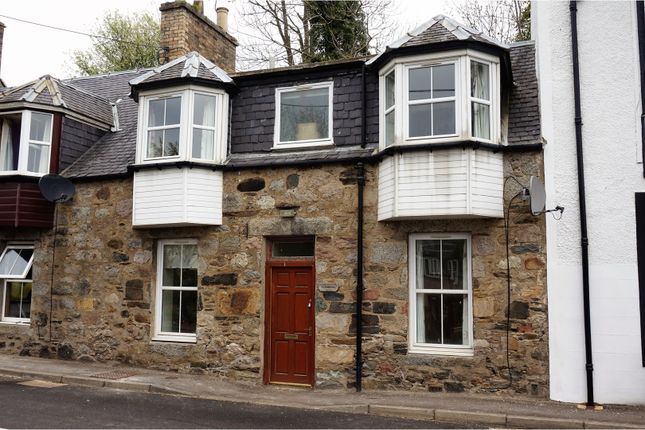 Thumbnail Terraced house for sale in Main Street Kirkmichael, Perth