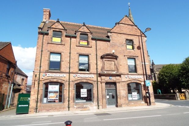 Thumbnail Flat to rent in Market Place, Uttoxeter