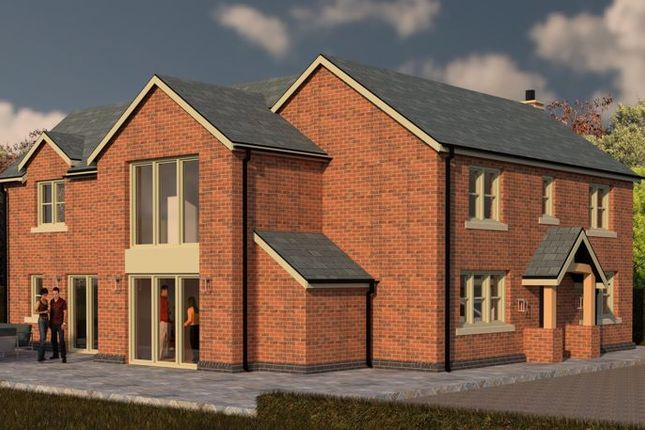 Thumbnail Detached house for sale in Wellcroft House, New Build Property, Brereton, Nr Arclid.