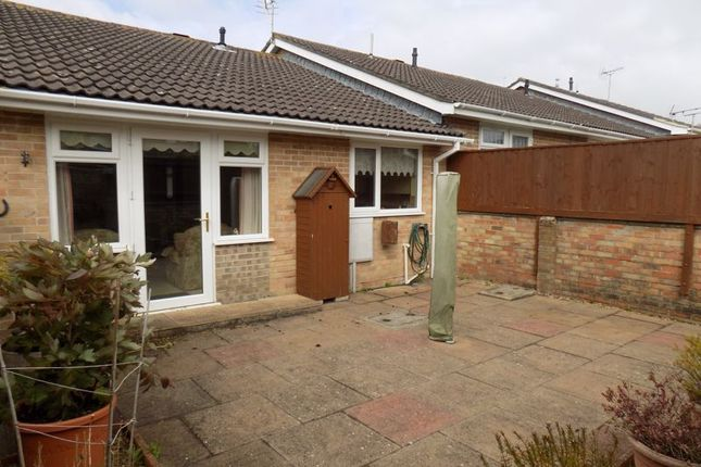 Thumbnail Terraced bungalow for sale in Hillfort Mews, Castle Park, Dorchester