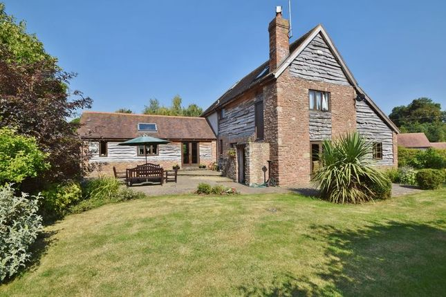 Thumbnail Detached house for sale in Phocle Green, Ross-On-Wye