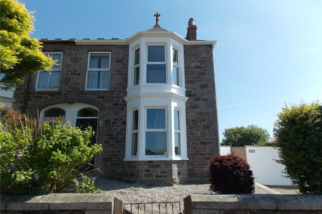Thumbnail Semi-detached house for sale in Claremont Road, Redruth