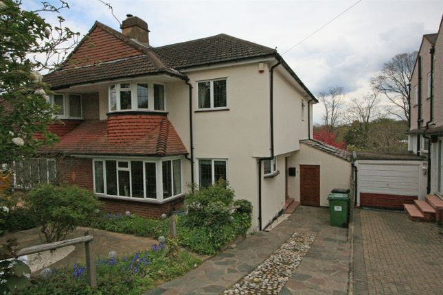 4 bed semi-detached house for sale in Ridgeway Drive, Bromley, Kent BR1
