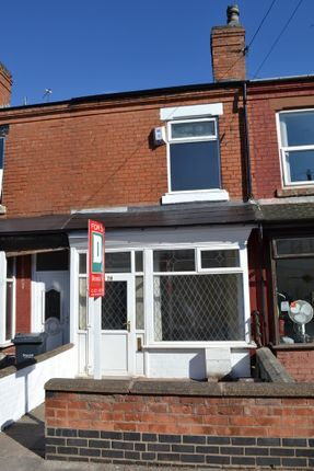 Thumbnail Terraced house to rent in Lightwoods Road, Bearwood