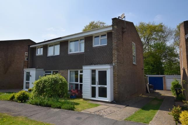 Thumbnail Semi-detached house for sale in Meadow Way, Heathfield, East Sussex