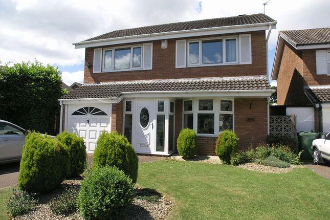 Thumbnail Detached house for sale in Moorfoot Avenue, Hayley Green, Halesowen