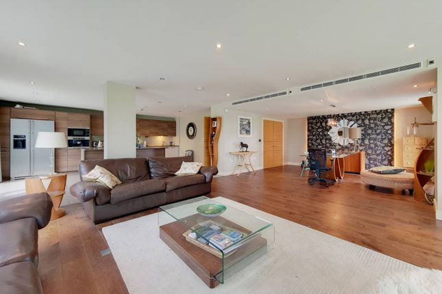 Thumbnail Flat for sale in Dolphin House, Imperial Wharf, London