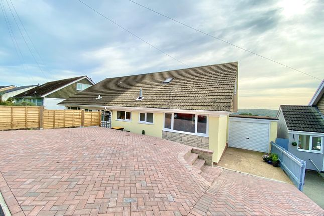 Thumbnail Semi-detached bungalow for sale in Larkfield Close, Caerleon, Newport