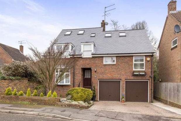 Thumbnail Detached house to rent in Horseguards Drive, Maidenhead