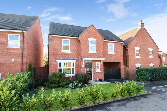 Thumbnail Detached house for sale in Essex Drive, Church Gresley, Swadlincote