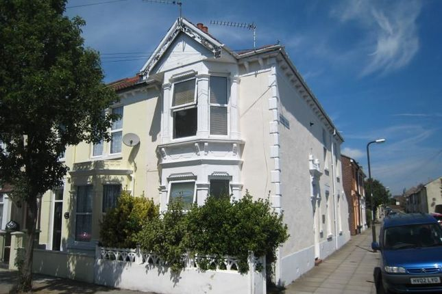 Thumbnail Flat to rent in Collins Road, Southsea