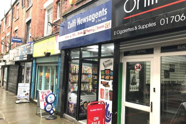Thumbnail Retail premises for sale in The Walk, Rochdale
