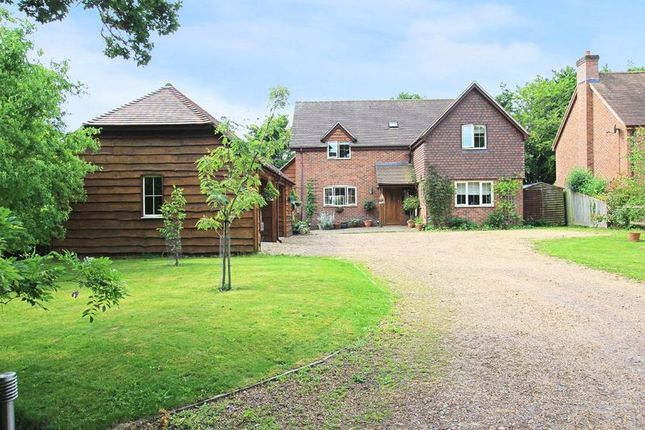 Thumbnail Detached house for sale in Newtown Road, Awbridge, Romsey