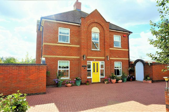Thumbnail Detached house for sale in Heron Close, Colchester