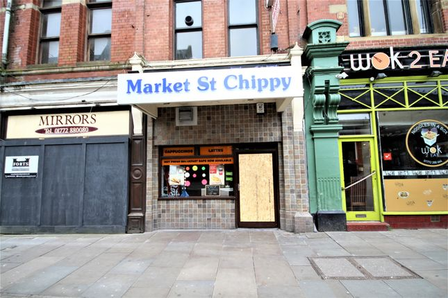Thumbnail Retail premises for sale in The Market Street Chippy, Market Street, Preston