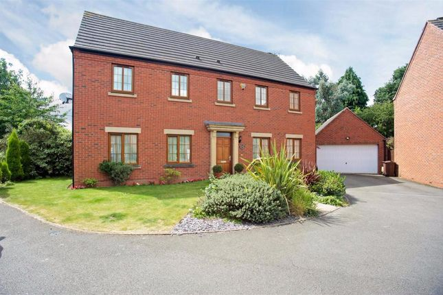 Thumbnail Detached house for sale in Sandy Hill Rise, Shirley, Solihull