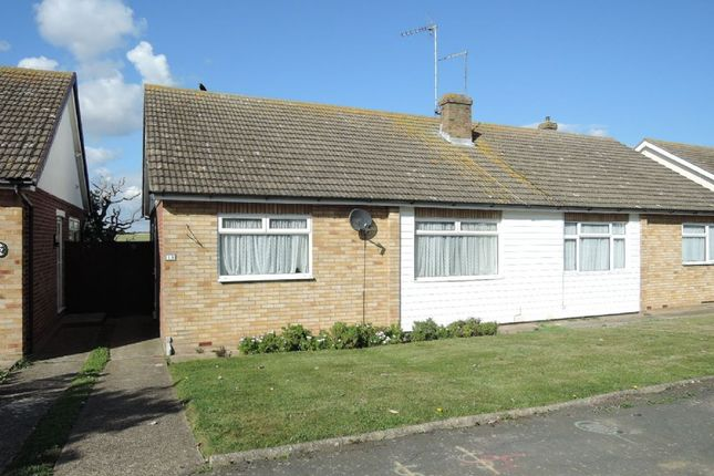 Thumbnail Semi-detached bungalow for sale in Fleetwood Avenue, Holland-On-Sea, Clacton-On-Sea