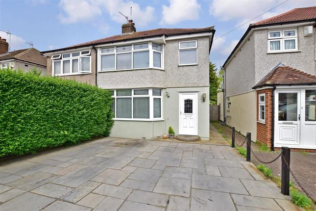 Thumbnail Semi-detached house for sale in Merlin Road, Welling, Kent