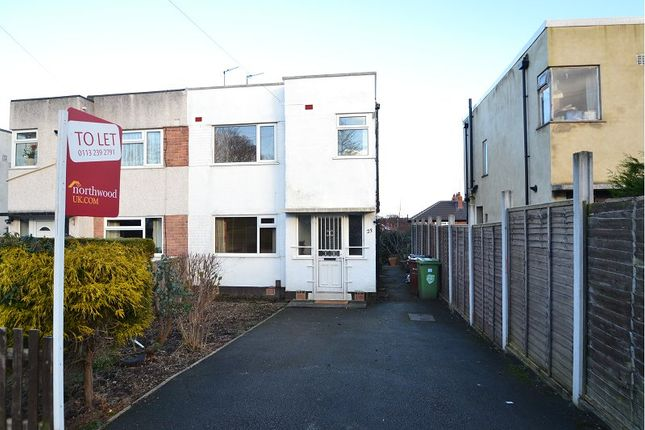 Thumbnail Semi-detached house to rent in Riviera Gardens, Chapel Allerton, Leeds