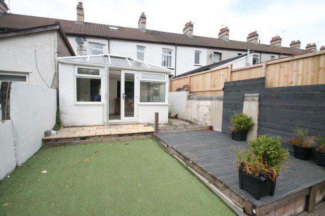 Thumbnail Terraced house for sale in Fair View, Pengham, Blackwood, Caerphilly Borough
