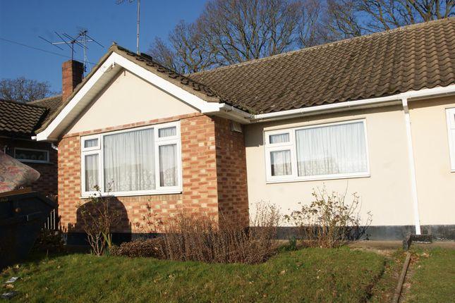 Thumbnail Semi-detached bungalow for sale in Ascot Close, Benfleet