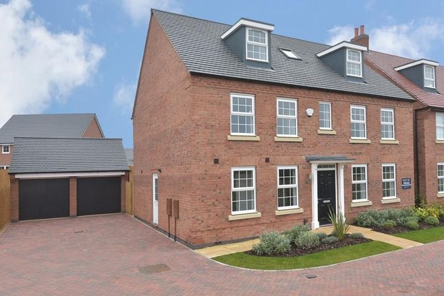 "Thumbnail Detached house for sale in ""Buckingham"" at Park View, Moulton, Northampton"
