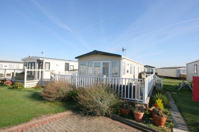 Thumbnail Mobile/park home for sale in Sandy Point, Selsey