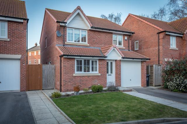 Thumbnail Detached house for sale in Coupland Close, Selby