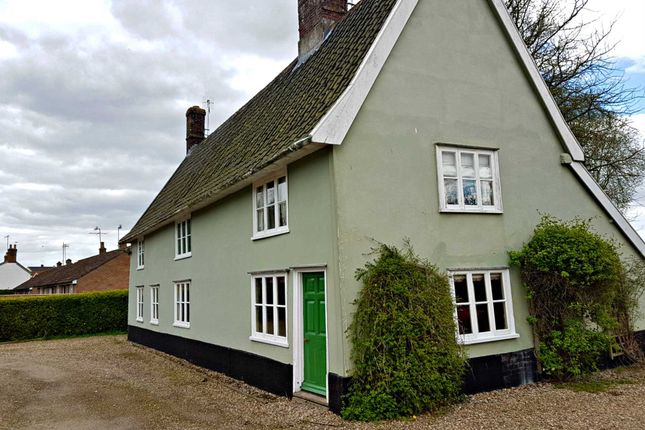 Thumbnail Cottage to rent in Low Road, Marlesford, Woodbridge
