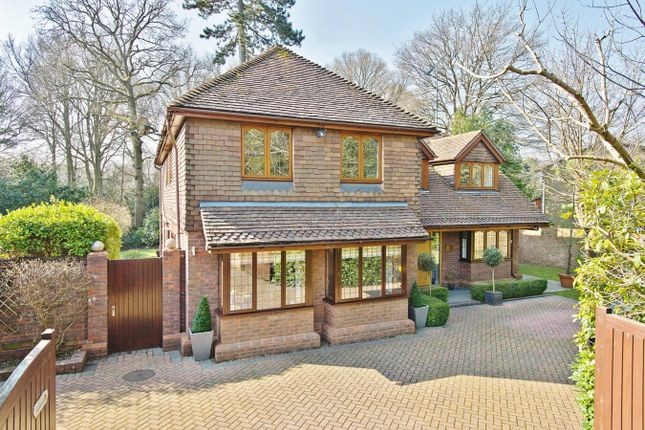 Thumbnail Detached house for sale in Woodland Way, Kingswood