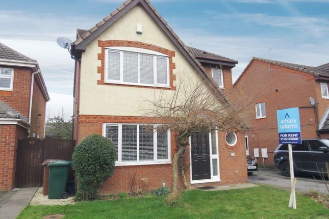 Thumbnail Property to rent in Merlin Way, Mickleover, Derby