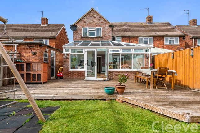 Thumbnail Semi-detached house for sale in Tobyfield Road, Bishops Cleeve, Cheltenham