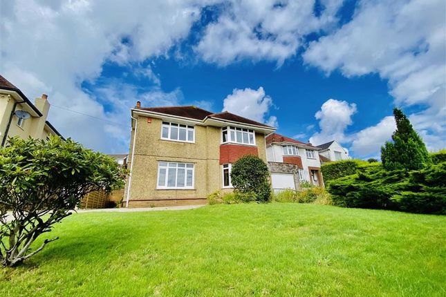 Thumbnail Detached house for sale in Dunvant Road, Killay, Swansea