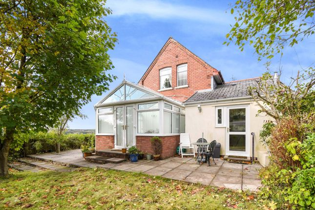 Thumbnail Detached house for sale in Beaufort Hill, Ebbw Vale