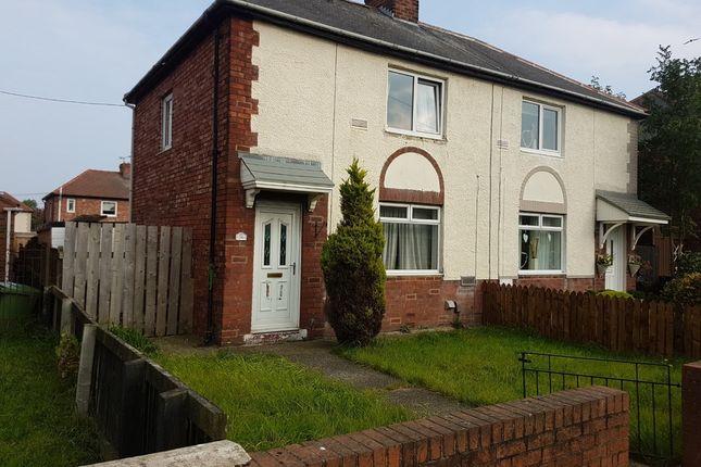 Thumbnail Semi-detached house for sale in Lindisfarne Road, Jarrow