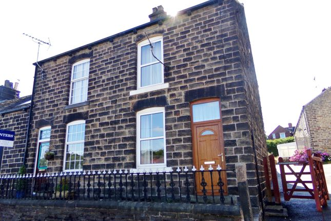 Thumbnail End terrace house to rent in Carr Road, Deepcar, Sheffield