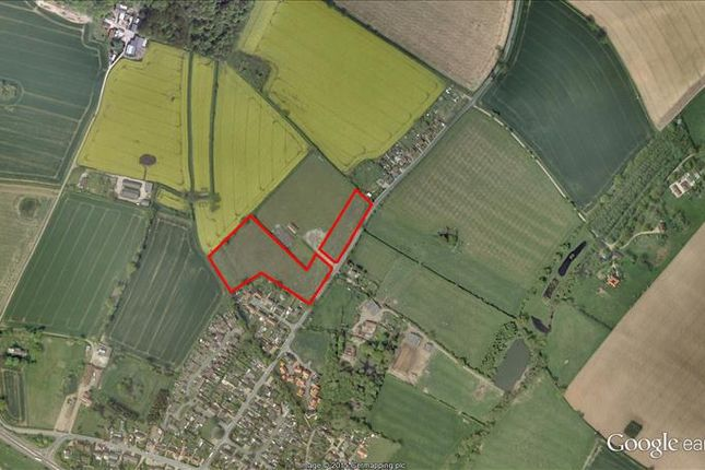 Thumbnail Land for sale in Lily Avenue, Hockering, Dereham